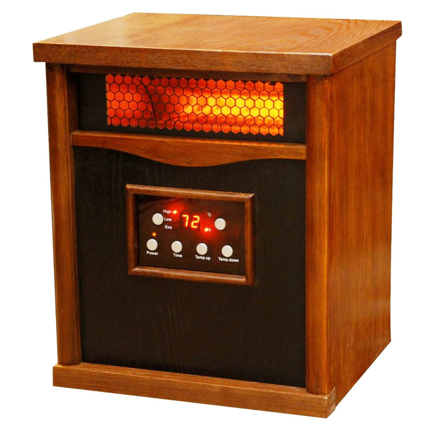 Lifesmart life pro large room heater with 6 infrared Best space heater for large room