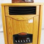 English Oak Comfort Furnace UV Heater Heats To 1000sq Feet
