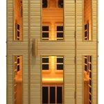Best Portable Infrared Sauna:  JNH Lifestyles 2-Person Far Infrared Sauna