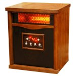 Lifesmart Life Pro Large Room Heater With 6 Infrared Quartz Elements