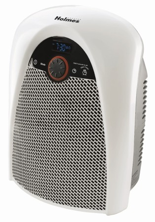 Holmes Heater with Programmable Timer & Bathroom Safe Plug,