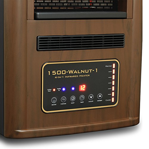 1500w Quartz Infrared Heater With Humidifier Amp Plasma Air