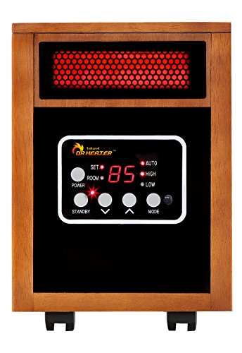 1 dr infrared heater ptc quartz portable space heater