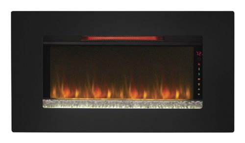 best wall mount electric fireplace heater